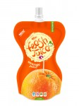 orange  juice drink 150ml in bag packing