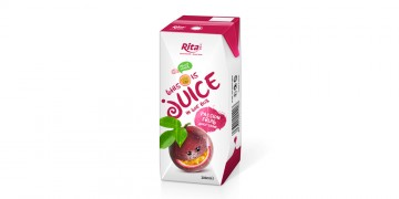 packaging solutions fruit passion juice in tetra pak