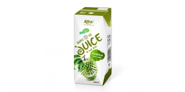 packaging solutions fruit soursop juice in tetra pak