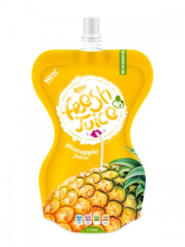 pineapple juice drink 150ml in bag packing