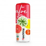 private label brand Sparkling  aloe vera  grape fruit 320ml