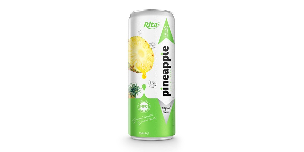 private label fresh  Fruit pineapple 330ml