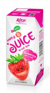 strawberry juice drink