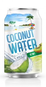 tropical fruit coconut with kiwi flavor 330ml
