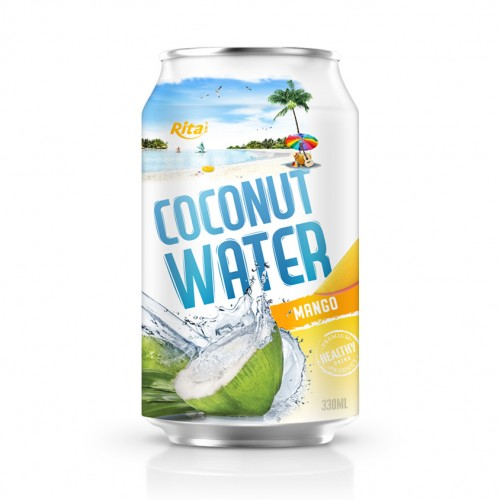 tropical fruit coconut with mango flavor 330ml