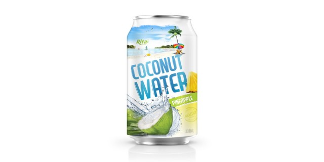 wholesale price coconut water pineapple 330ml
