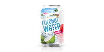 wholesale price coconut water raspberry 330ml